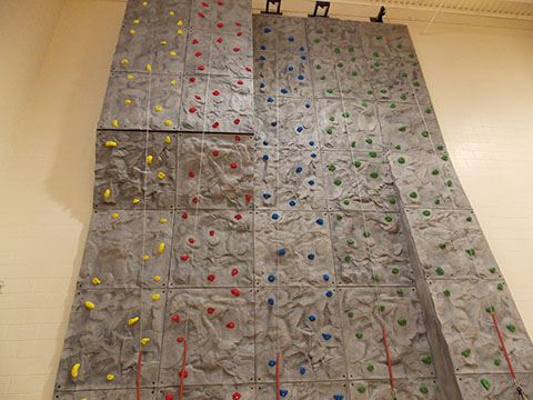 Johnson Park Youth Center Climbing Wall