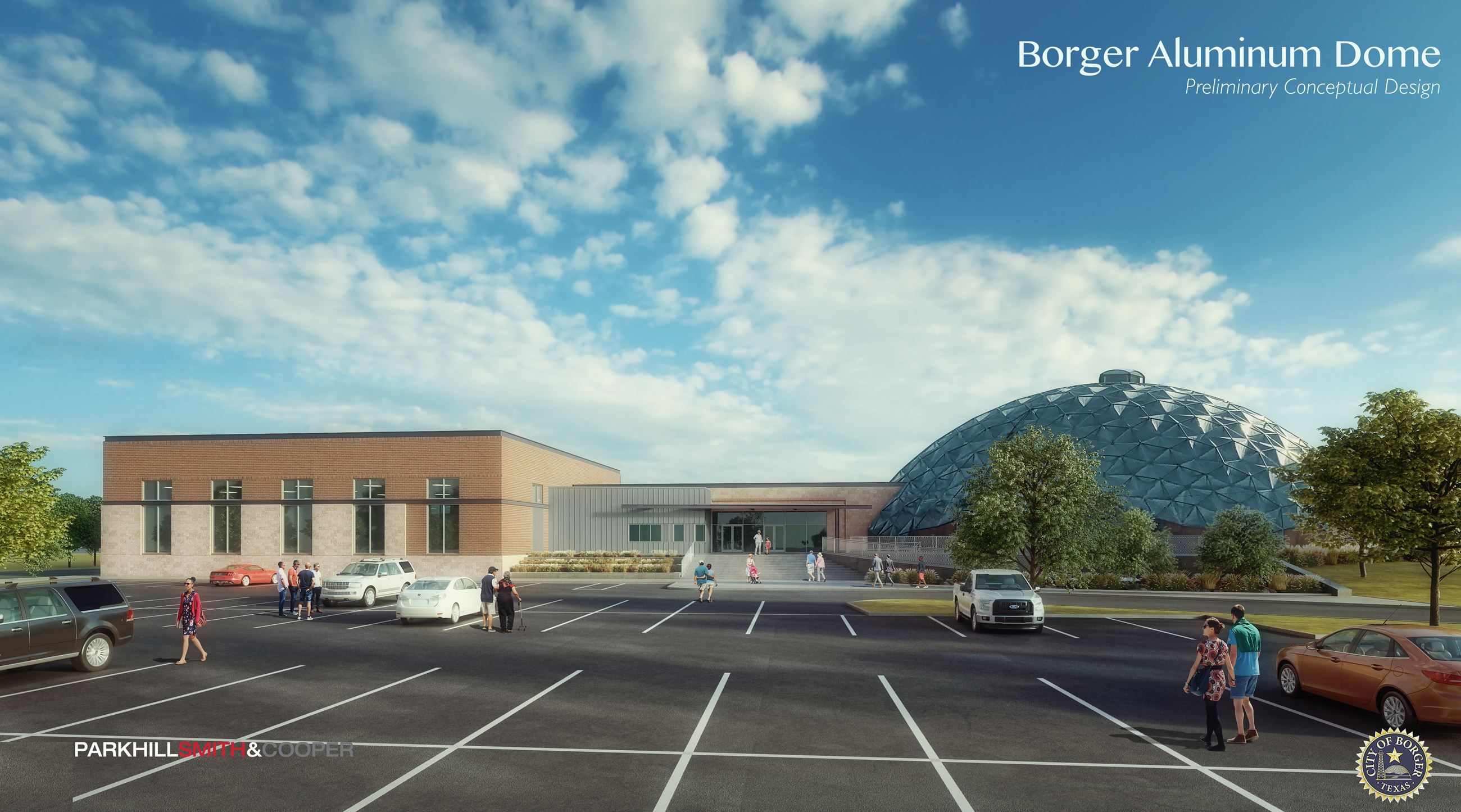 click here to learn about plans for the Borger Dome!